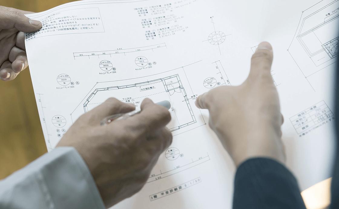 物件活用法のご提案や改修工事だけでなくそこからのアフターフォローがイマスの強み。